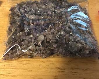 Amethyst short pre-strung pieces