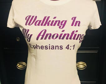 Walking In My Anointing