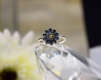 Pandora Statement Flower Ring Size N (GB)   61/2 (US)