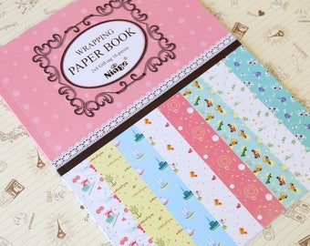 Ninge FANCY CARTOON Wrapping Paper Book - No 3