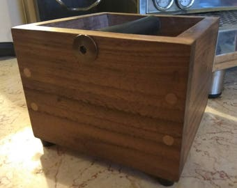 Wooden Knock box