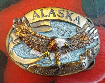 Alaskan Belt Buckle