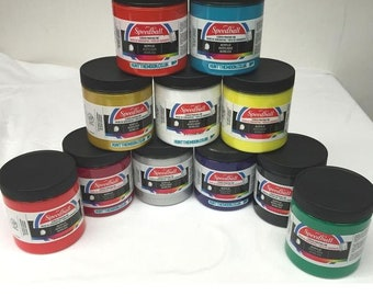 Speedball Water Based Permanent Acrylic Screen Printing Ink