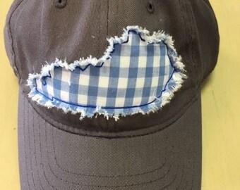 Kentucky Raggy Patch Ball Cap
