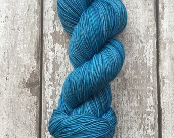 Hand Dyed Merino Sock Wool in Twilight