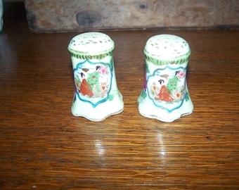 Japanese Geisha Salt & Pepper Shakers
