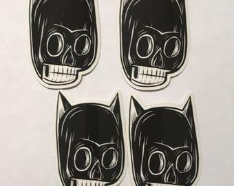 Dead Batguy Sticker by Kevin Kosmicki
