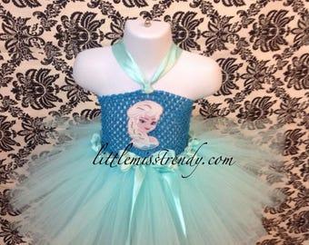 Frozen, Elsa, Frozen Costume, Halloween Costume, Elsa Costume, Elsa Tutu, Elsa Tutu Dress, Frozen Tutu Dress, Girls Costume, Best Seller Tut