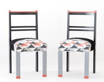 Vintage Chair Fluo Details