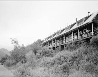 Poster, Many Sizes Available; 28. Kennecott Apartments Kennecott Glacier Lodge Destroyed By Fire In 1983 Kennecott Copper Corporation, On Co