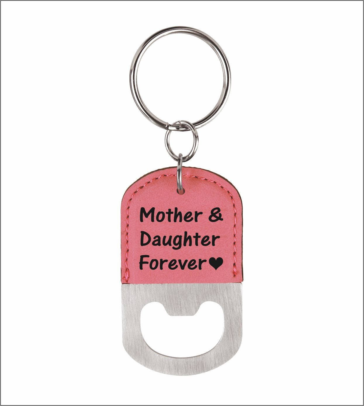 Mother and Daughter Forever Key chain Gift for Mom from