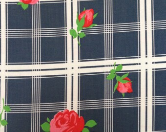 Length of Vintage Cotton Fabric