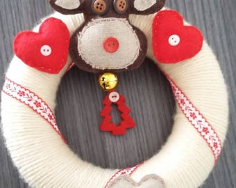 "Christmas Wreath ""Scandinavian winter"""