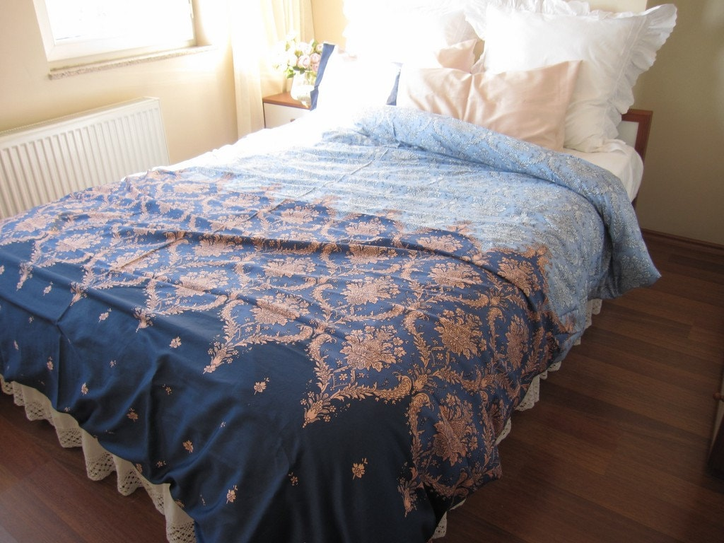 Expedited fast shipping Dorm room Bedding Pink Blue Navy : twin xl quilts - Adamdwight.com