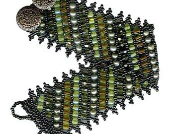 KIT  -- Flat Russian-Style Netted Bracelet