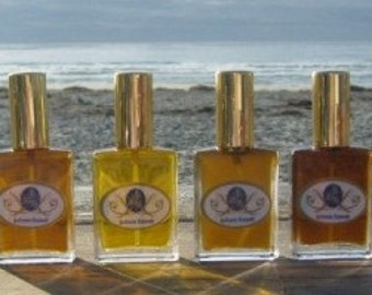 Natural Perfume Samples - Limited Edition eau de perfume, botanical perfume, perfume organic, rose, jasmine, vetiver, vanilla, men's cologne