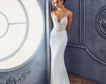 "Collection 2018/ ""Lilian"" gown /  Romantic Bridal dresses/ Wedding gown/bridal gown/Wedding gown/Wedding dress/Bridal dress"