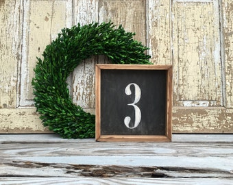 3 | Small Rustic Sign | Home Decor | Mantle Sign | Gallery Wall