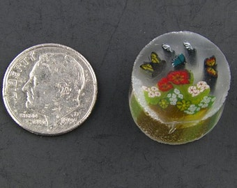 The Butterfly Garden by Greg Chase Murrine Boro Cane 7 grams - 125 F