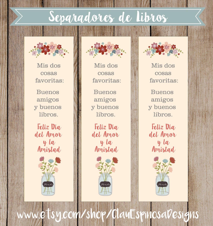 Separadores de libros para regalar en san valent n spanish for Libros para regalar