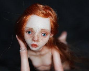 "Porcelain BJD Ball jointed doll ""Elsa"" by Olesya Kudryashova."