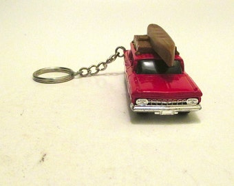 Chevy Wagon keychain, 1959 Chevrolet Brookwood Station Wagon, Car Keychain, Mens or Womens keychain,Mens or Womens gift, schluesselanhaenger