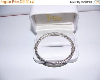 ON SALE Vintage Sterling Silver Bracelet