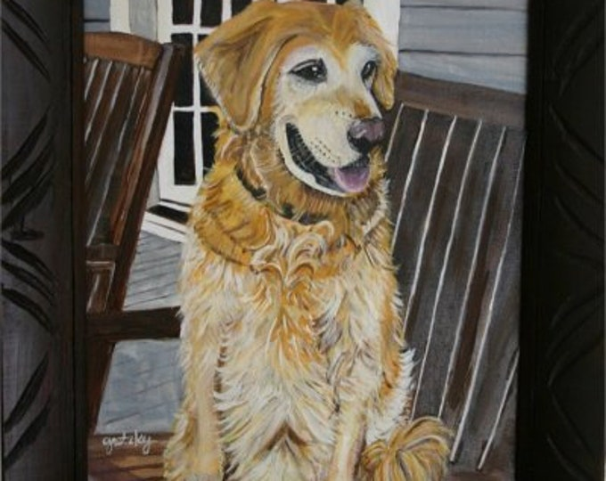 Custom Dog portraits from your photos