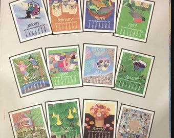 Nikki Schumann Poster Calendar for 1998