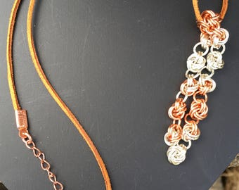 Chain Maille Pendant
