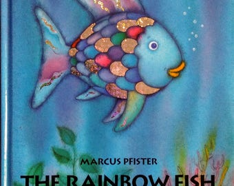 1992 Hardcover Edition of The Rainbow Fish by Marcus Pfister