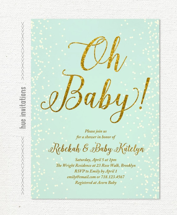 Baby Shower Invitations Size Choice Image baby shower invitations