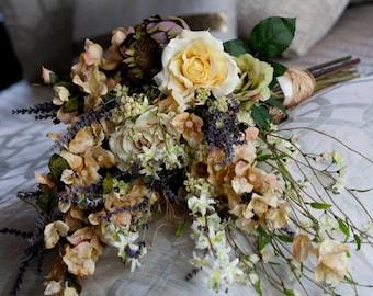 English Garden Custom Bridal Bouquet