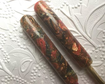 Crochet Hook Set of Two, Polymer Clay