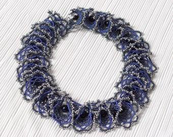 Necklace Star Sky, Beads ogalala necklace aventurine color.