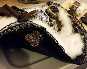 Steampunk Pirate Hat