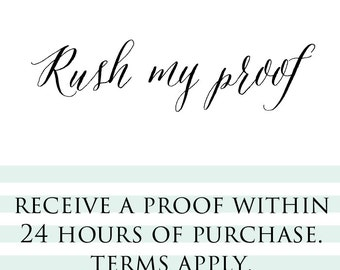 Rush My Proof