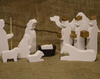 "Home Nativity set - 6"" tall"