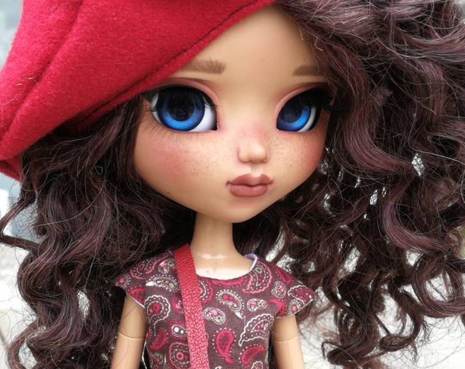 Adopted by Candice. Cerise : Pullip full custo OOAK Belladolla