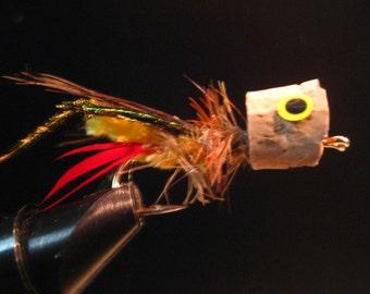 Mouche de la sauterelle, également un popper, Woodys popper trémie du mal