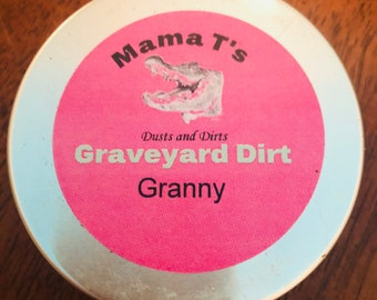 Mama T's GRANNY GRAVEYARD DIRT for Hoodoo Voodoo Pagan Witchcraft