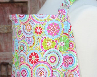 Nursing Cover-Bright Medallions-Free Shipping When Purchased With A Wrap