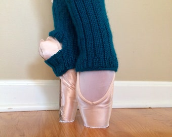 Ballet Ankle Warmers/Yoga Socks: Emerald Green