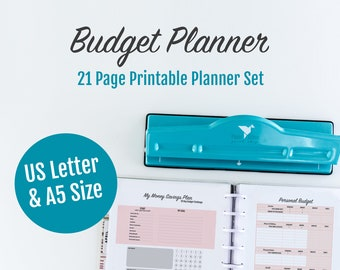 Budget Planner, Financial Planner, Budget Printable, Budget, Bill Tracker, Budget Binder, Digital Download