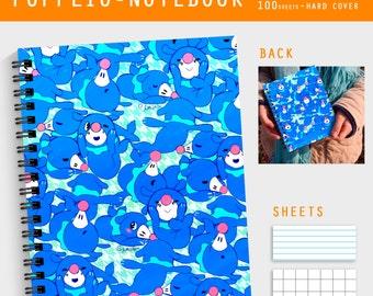 Popplio - Spiral Notebook - hard cover