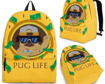 Yellow backpack -dog lover backpack/ backpack