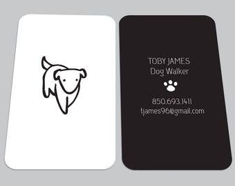 Pet sitter business cards roho4senses pet sitter business cards colourmoves