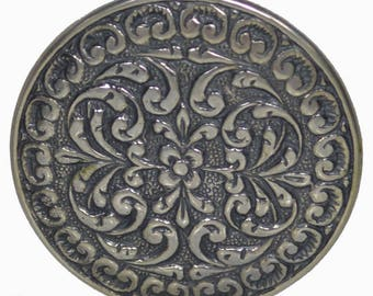 Byzantine Ornament Sterling Silver Pendant Brooch Pin - Byzantio