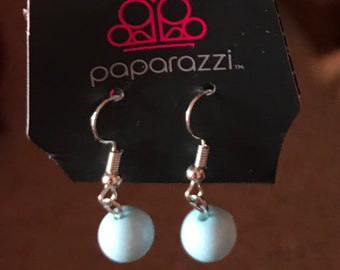 Paparazzi Blue Earrings
