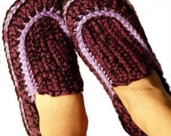 Crochet Pattern: Loafers (Women's and Men's)